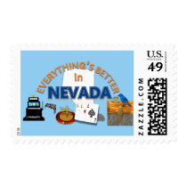 Everything's Better in Nevada Postage