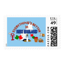 Everything's Better in New England Postage