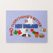 Everything's Better in New England Puzzle
