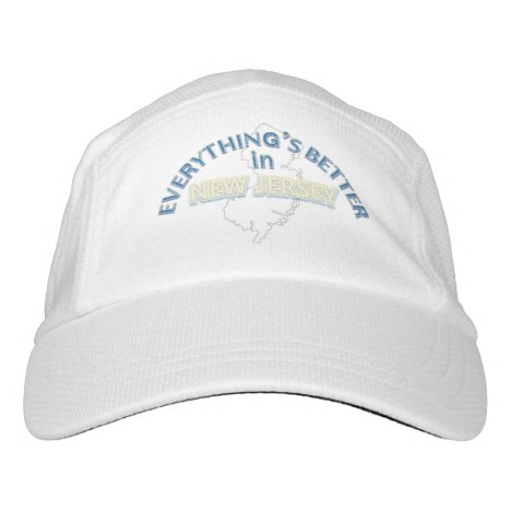 Everything's Better in New Jersey Performance Cap
