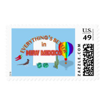 Everything's Better in New Mexico Postage