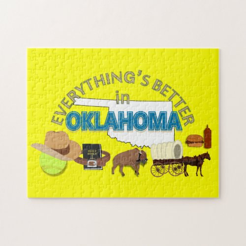 Everything's Better in Oklahoma Puzzle