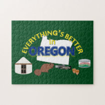 Everything's Better in Oregon Puzzle