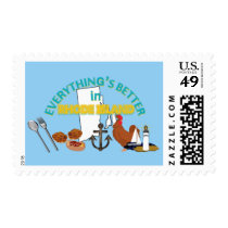 Everything's Better in Rhode Island Postage