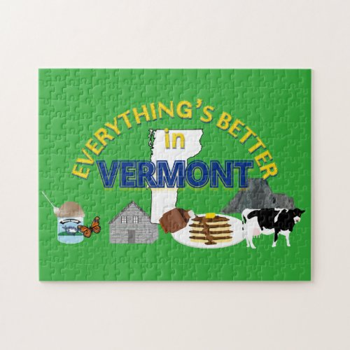Everything's Better in Vermont Puzzle