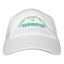 Everything's Better in Washington Performance Cap