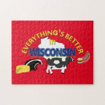 Everything's Better in Wisconsin Puzzle