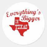 Everything's bigger in Texas Sticker