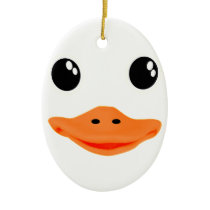 Everything's Ducky Baby Duck Ceramic Ornament