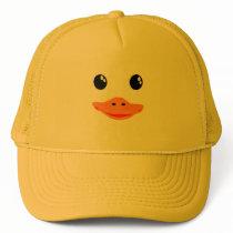 Everything's Ducky Baby Duck Trucker Hat