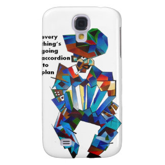 Everything's Going Accordion To Plan Galaxy S4 Cases