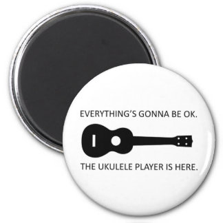 Everything's Gonna Be OK! 2 Inch Round Magnet