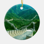 Everywhereness Great Wall Of China Ceramic Ornament