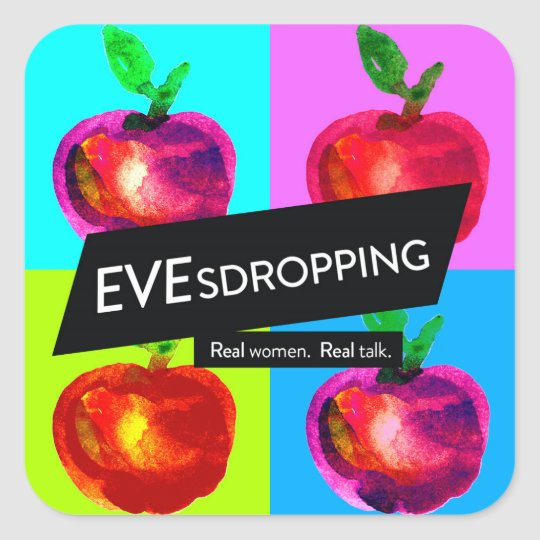 Evesdropping Stickers (3 inch)