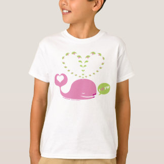 EveWhale Kids White T-Shirt