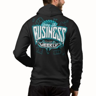 EVGA Weekly GIVING THE BUSINESS Zip Up Hoodie