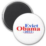 EVICT OBAMA 2012 MAGNETS