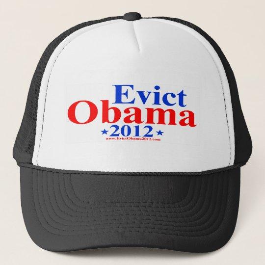 EVICT OBAMA 2012 TRUCKER HAT