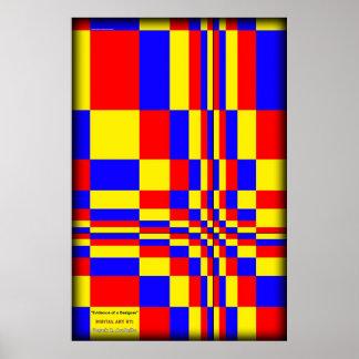 Evidence of a Designer Poster
