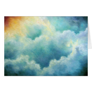 """""""Evidence Of Angels"""" Fine Art Greeting Card"""