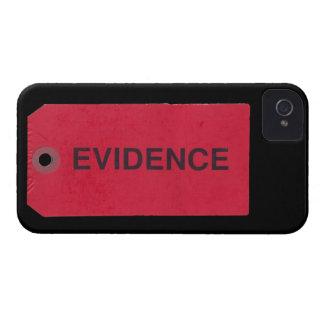 Evidence Tag Blackberry Bold Case