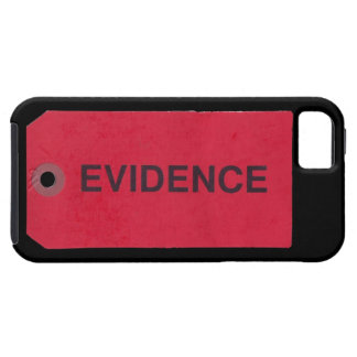 Evidence Tag iPhone 5 Case