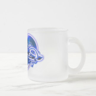 Evie Frosted Glass Coffee Mug