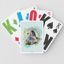 Playing Cards with Descendants Evie: Future Queen design