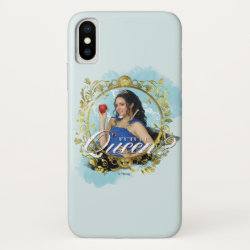 Case-Mate Barely There iPhone X Case with Descendants Evie: Future Queen design