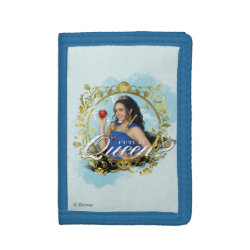 TriFold Nylon Wallet with Descendants Evie: Future Queen design