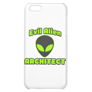 Evil Alien Architect iPhone 5C Covers