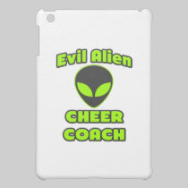 Evil Alien Cheer Coach iPad Mini Cover