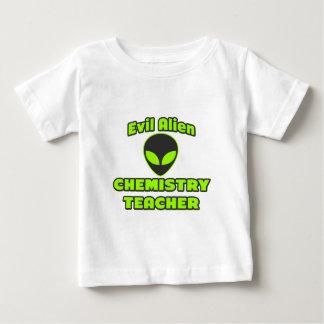 Evil Alien Chemistry Teacher Baby T-Shirt