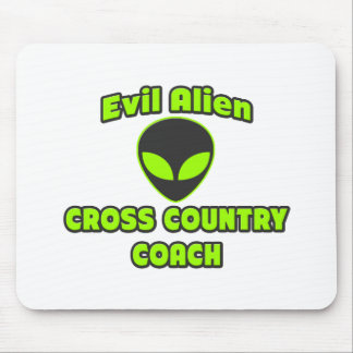 Evil Alien Cross Country Coach Mouse Pad