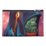 Evil Alien Diplomat Art by Al Rio Travel Accessory Bag
