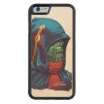 Evil Alien Diplomat Art by Al Rio Carved® Maple iPhone 6 Bumper Case