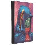 Evil Alien Diplomat Art by Al Rio Kindle Touch Case