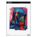 Evil Alien Diplomat Art by Al Rio Decal For iPad 3