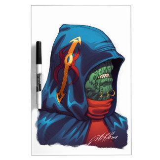 Evil Alien Diplomat Art by Al Rio Dry Erase Board
