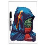 Evil Alien Diplomat Art by Al Rio Dry-Erase Whiteboards