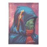 Evil Alien Diplomat Art by Al Rio Tyvek® Card Case Wallet