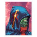 Evil Alien Diplomat Art by Al Rio Flyers