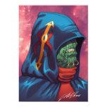 Evil Alien Diplomat Art by Al Rio Invitation