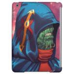 Evil Alien Diplomat Art by Al Rio iPad Air Covers