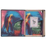 Evil Alien Diplomat Art by Al Rio iPad Case