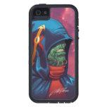 Evil Alien Diplomat Art by Al Rio iPhone 5 Case