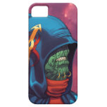 Evil Alien Diplomat Art by Al Rio iPhone 5 Cases