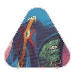 Evil Alien Diplomat Art by Al Rio Bluetooth Speaker