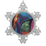 Evil Alien Diplomat Art by Al Rio Ornaments