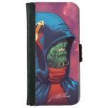 Evil Alien Diplomat Art by Al Rio iPhone 6 Wallet Case